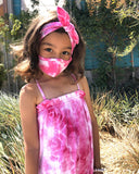 Tie Dye Kids Face Mask