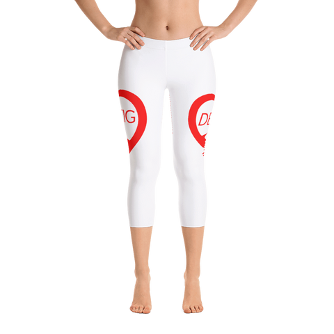 Destig Logo Capri Leggings