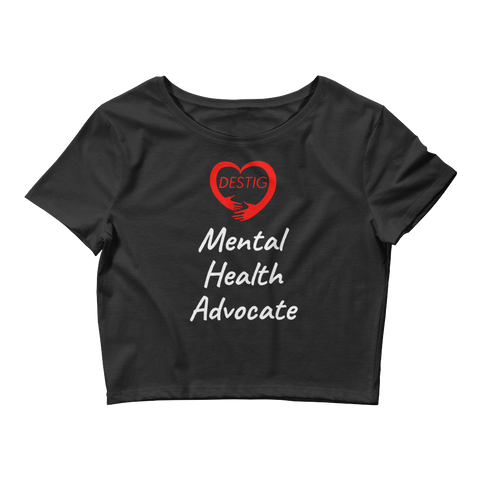 Mental Health Advocate Crop Top