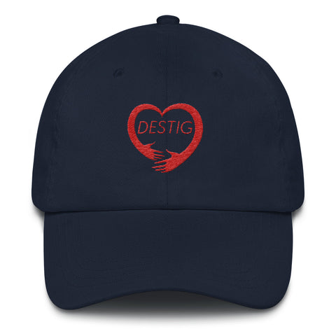 Destig Logo Dad hat