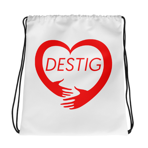 Destig Logo Drawstring bag