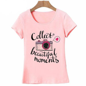 "Women's ""Collect Beautiful Moments"" T-shirt"
