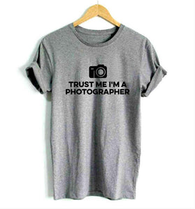 Women's Trust Me I'm A Photographer T-shirt