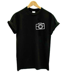 Women's Cotton Camera T-shirt