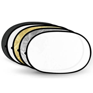 5 in 1 Collapsible Light Reflector 100x150cm / 40x60in