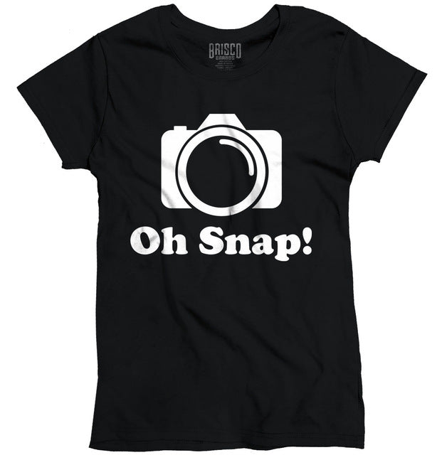 Women's Oh Snap! Funny Photographer T-Shirt