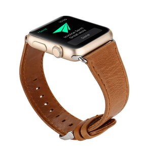 Genuine Leather Apple Watch Wristband