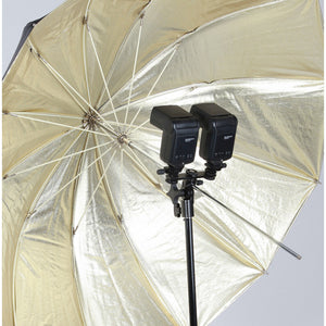 Dual Speedlight Hotshot Umbrella Stand