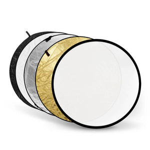 5 in 1 Collapsible 43in Light Reflector