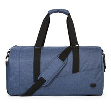 Nylon Messenger Bag With Shoe Pocket