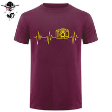Men's Camera Heartbeat T-shirt