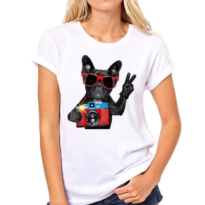 Women's French Bulldog Photog T-shirt