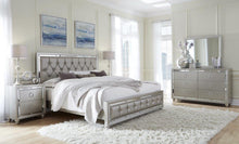 Riley Jeweled Tufted Bedroom Set