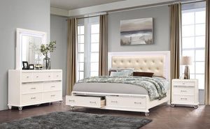 Sonia L.E.D. Bedroom Set (multiple colors available)