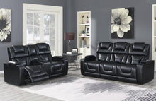 Reclining Power Blanche Black Living room