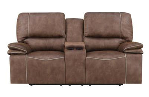 Reclining Sultry Dark Brown/Sultry Pecan Living Room