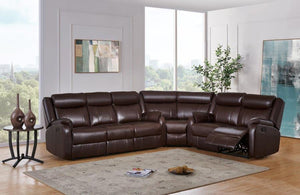 Reclining Sultry Brown Living room