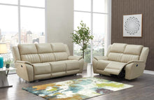 Reclining Power Beige Living room