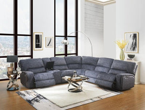 Saul Power Reclining Sectional