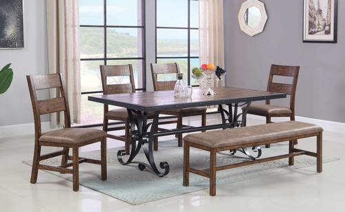 Rustic Pine Dining Collection