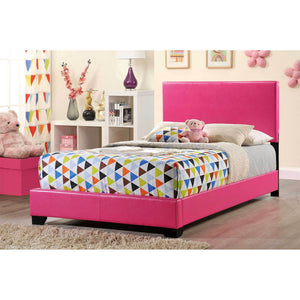 Pink Gloss Bed 8103-P
