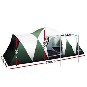 "LARGE FAMILY ""DOME"" TENT."
