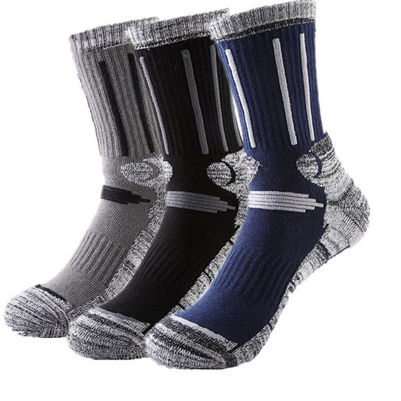 3 x PAIRS THERMAL WINTER SOCKS - MALE & FEMALE