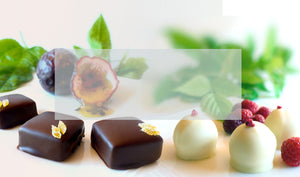 Our chocolate is quality Callebaut Belgian couveture, made in Golden Bay, New Zealand