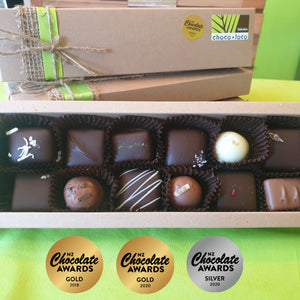 Indulgence - 12 gourmet chocolate gift box