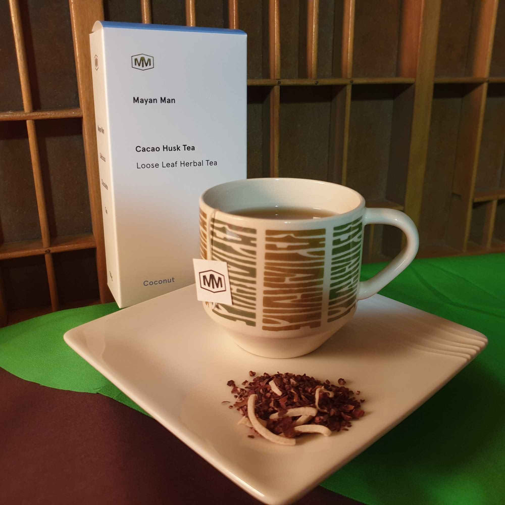 Load image into Gallery viewer, Coconut Cacao Leaf Tea