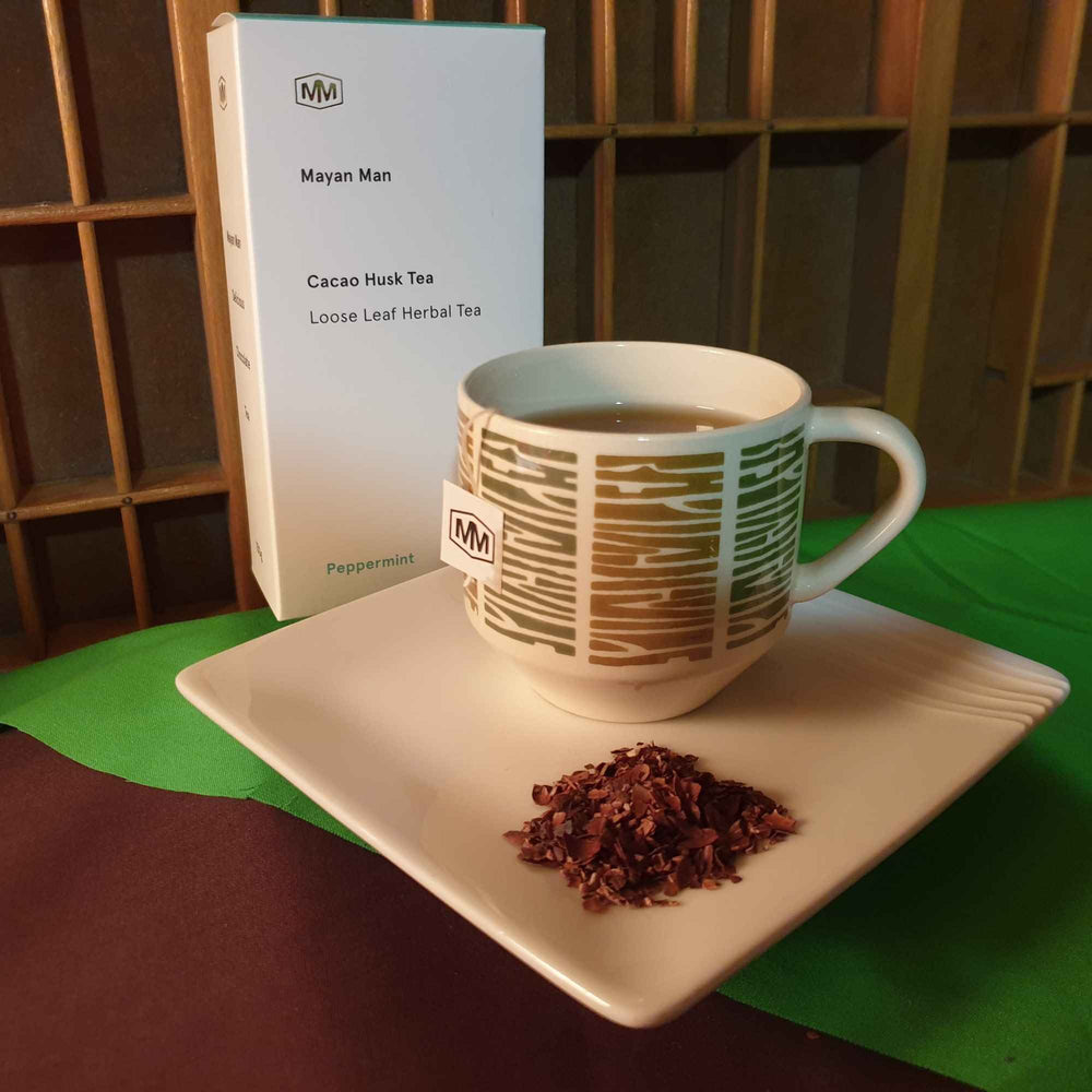 Peppermint Cacao Leaf Tea