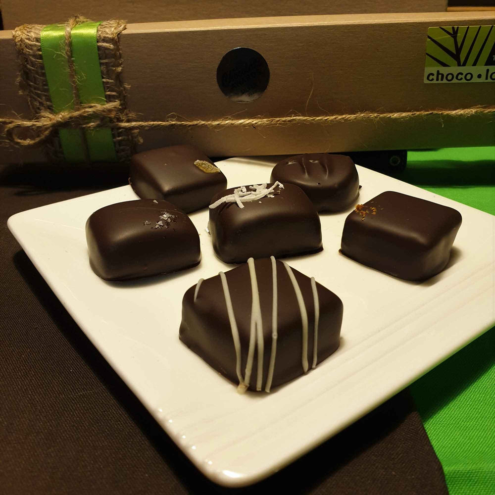 Stone Cold Sober - 6 alcohol free chocolates