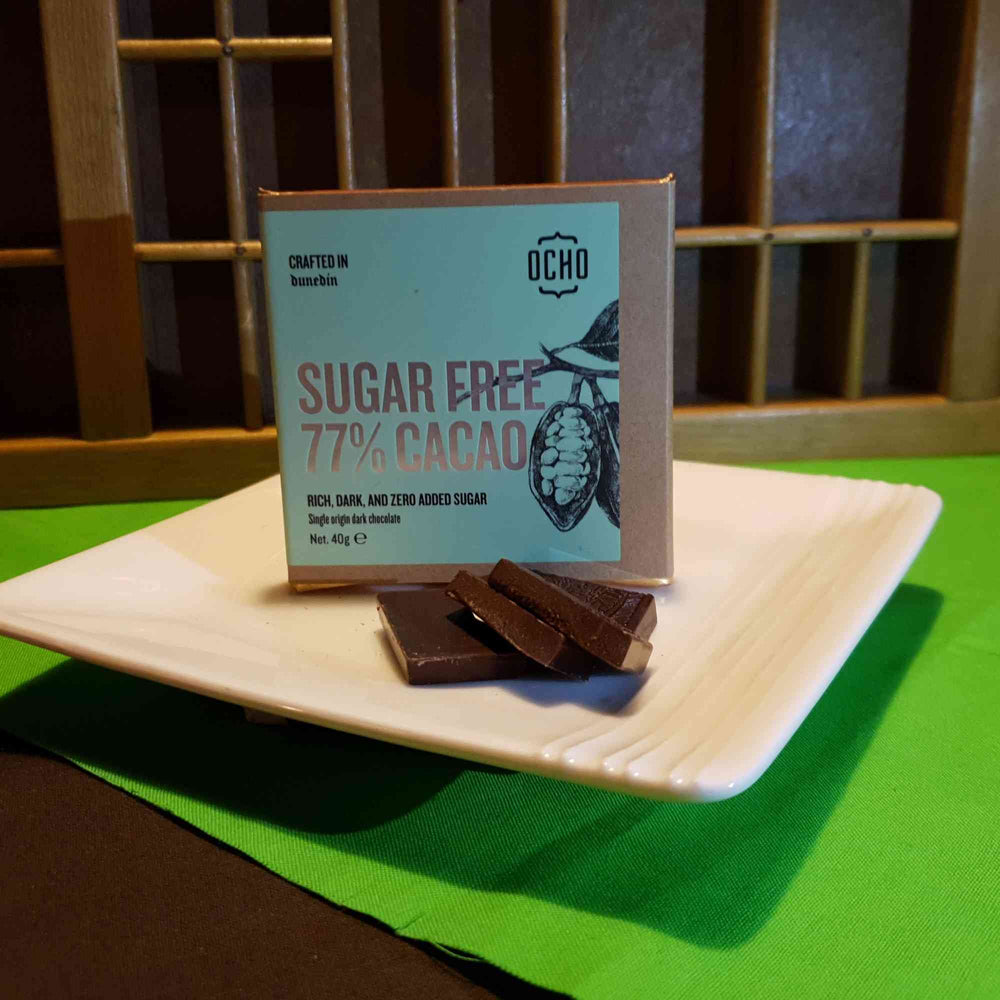 Load image into Gallery viewer, Sugar Free 77% Cacao 40g
