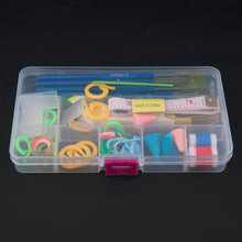 16 Crochet Hooks Plus 42 Accesories Case Set