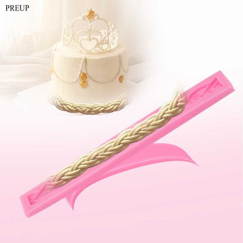 Long Rope - Silicone Fondant Mould