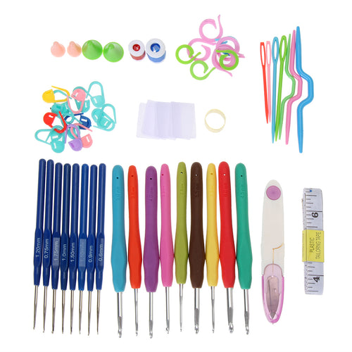 16 Sizes Crochet Hooks- 57pcs Set
