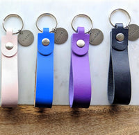 Small Leather Key Chains