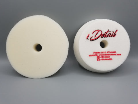 i.detail 5 inch White Finishing Foam Pad