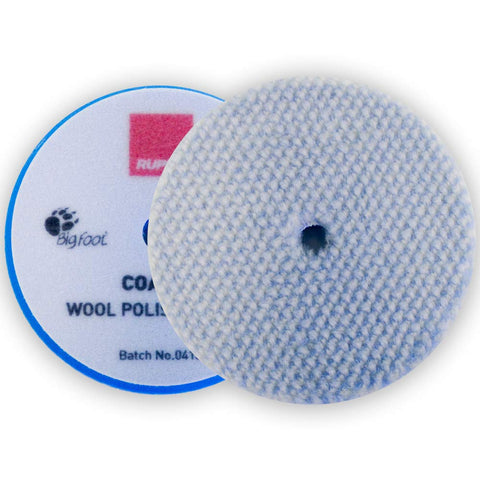 7 inch RUPES Coarse Wool Polishing Pad