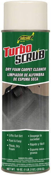 Turbo Scrub Dry Foam Carpet Cleaner