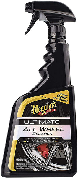 Meguiar's Ultimate All Wheel Cleaner, 24 oz., Spray