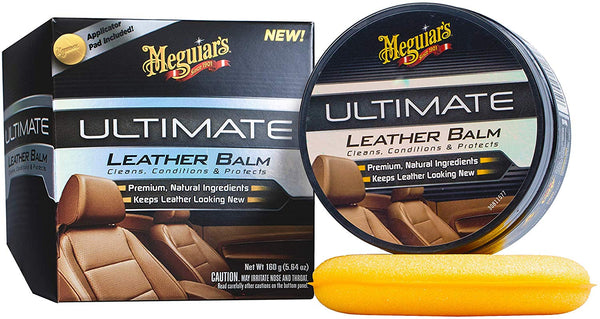 Meguiars Ultimate Leather Balm, 5 oz.