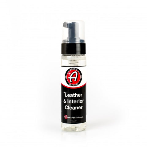 ADAM'S 6OZ FOAMING LEATHER & INTERIOR CLEANER