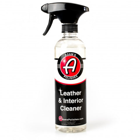 ADAM'S NEW LEATHER & INTERIOR CLEANER 16OZ