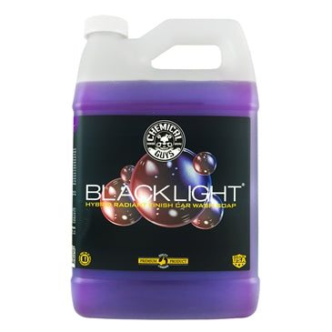 Black Light Hybrid Radiant Finish Car Wash Soap & Superior Surface Cleanser (1 Gal)