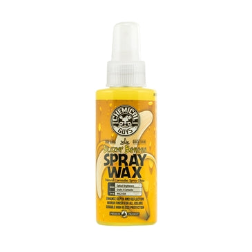 Blazin' Banana Spray Wax Natural Carnauba Spray Gloss (4 oz)