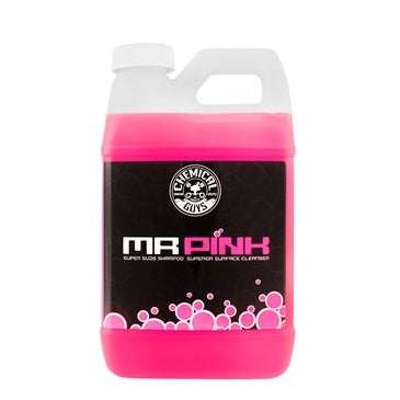 Mr. Pink Super Suds Shampoo & Superior Surface Cleaning Soap (64 oz - 1/2 Gal)