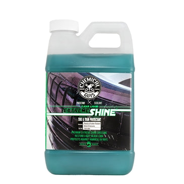 Clear Liquid Extreme Shine Tire and Trim Dressing and Protectant (64 oz - 1/2 Gal)