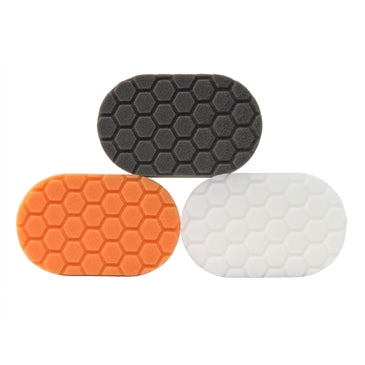 Hex-Logic Hand Polishing Applicator Pads, 3 Pack (3 x 6 x 1 Inch)