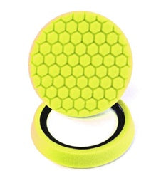 Hex-Logic Self-Centered Heavy Cutting Pad, Yellow (7.5 Inch) 1 pad